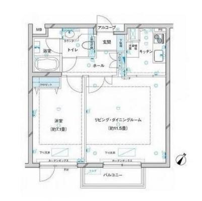参宮橋マンション206号室