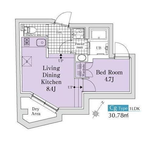 エクサム代々木ウェスト103号室