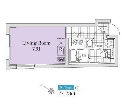 エクサム代々木ウェスト302号室