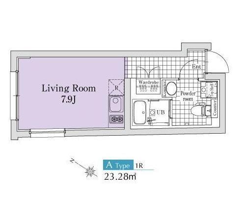 エクサム代々木ウェスト402号室