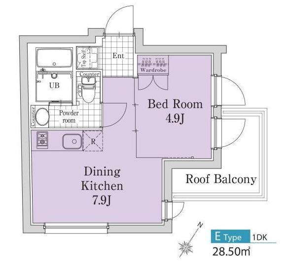 エクサム代々木ウェスト502号室