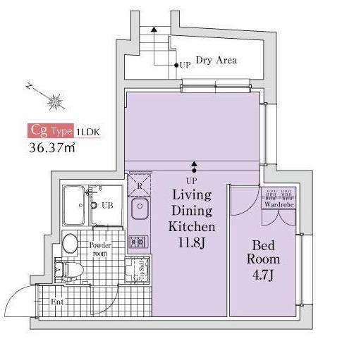エクサム代々木イースト102号室