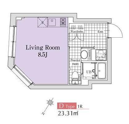 エクサム代々木イースト301号室