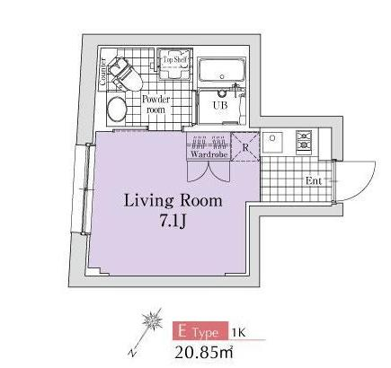 エクサム代々木イースト402号室