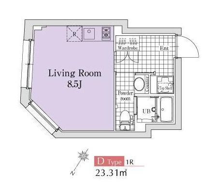 エクサム代々木イースト501号室