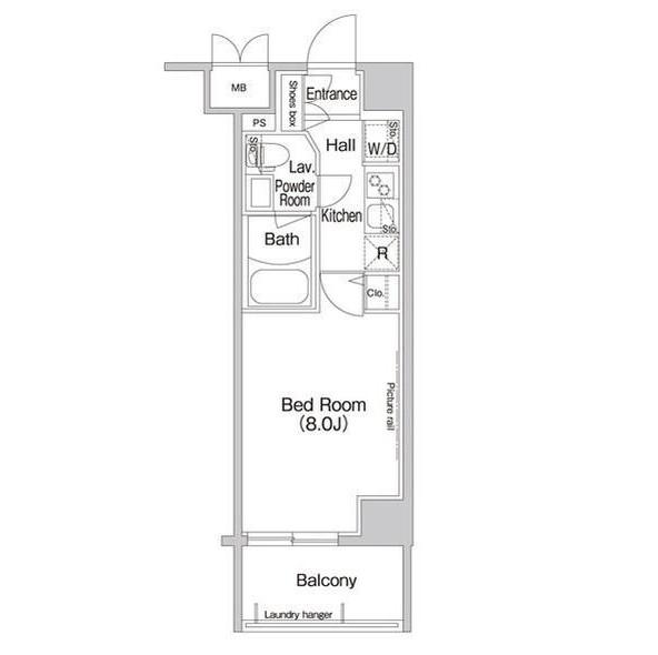 コンフォリア新宿305号室