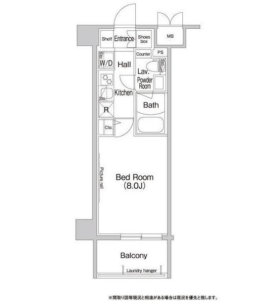 コンフォリア新宿604号室
