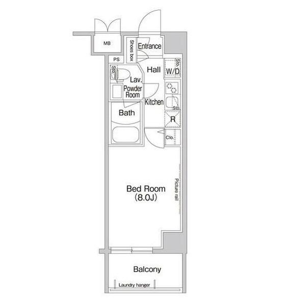コンフォリア新宿703号室