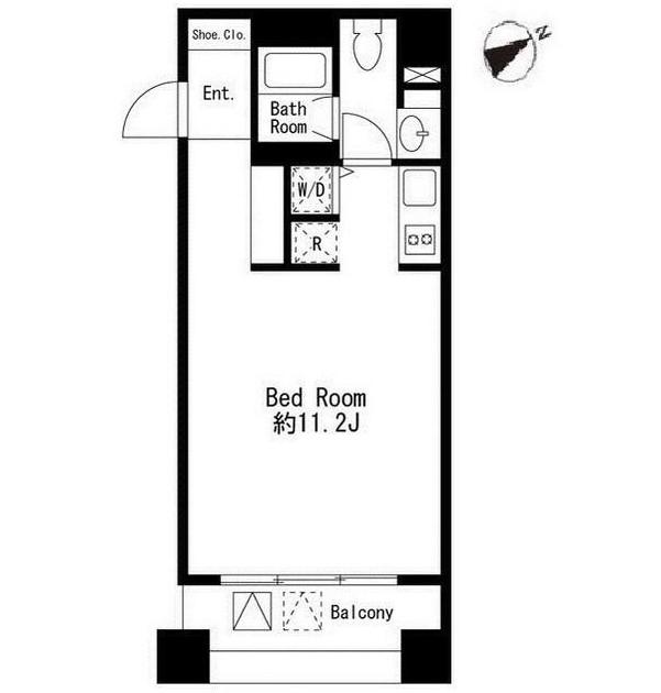 コムフラッツ白金504号室