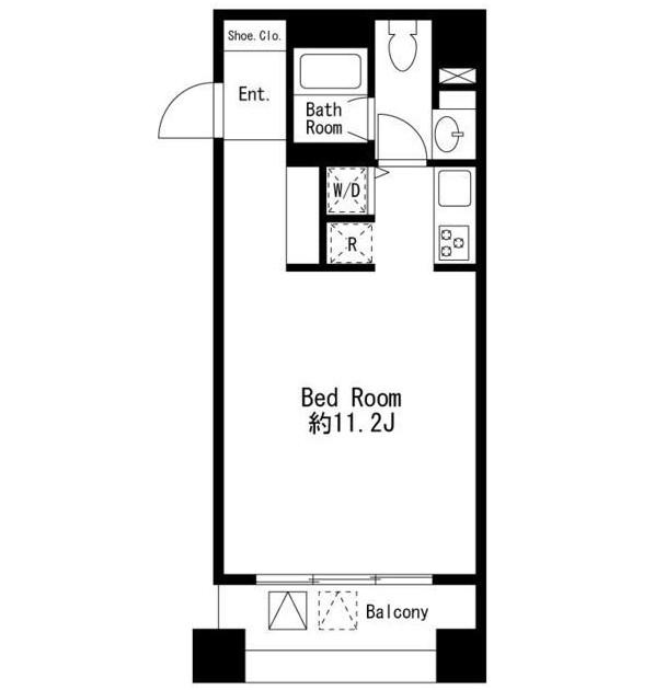 コムフラッツ白金704号室