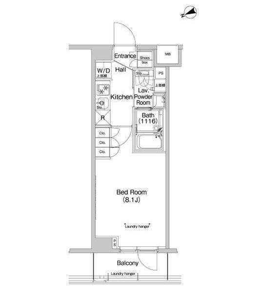 プラウドフラット代々木八幡204号室
