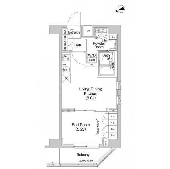 プラウドフラット代々木八幡505号室