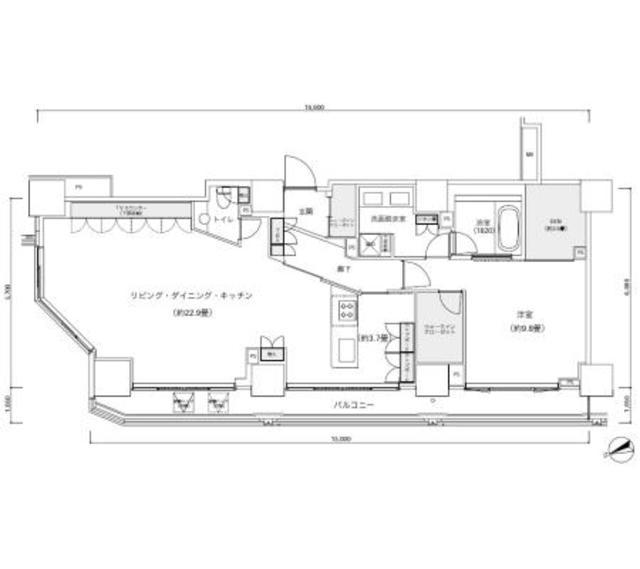 パークキューブ愛宕山タワー3001号室