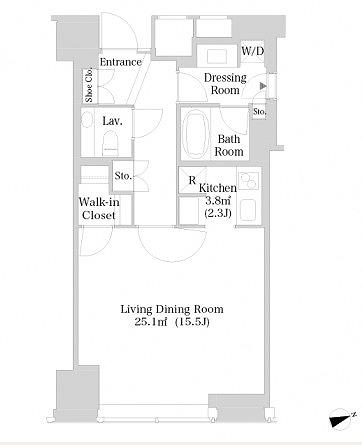 ラ・トゥール新宿3817号室