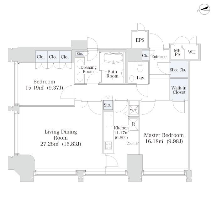 ラ・トゥール千代田1913号室