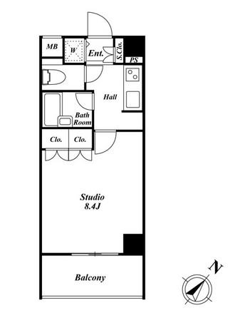 スペーシア三軒茶屋弐番館 405号室