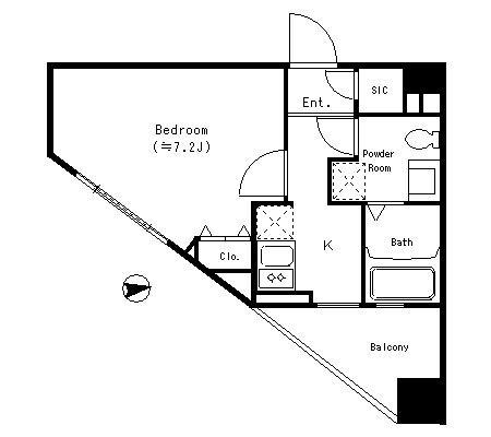 パークキューブ四谷三丁目316号室