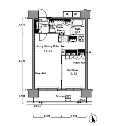 パークアクシス渋谷桜丘サウス603号室