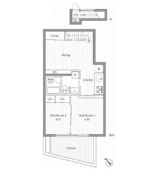 レジディア南青山101号室