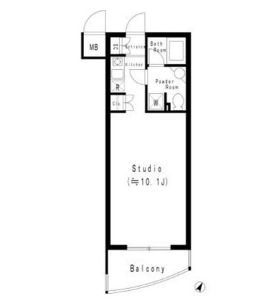 MFPR代々木タワー1006号室