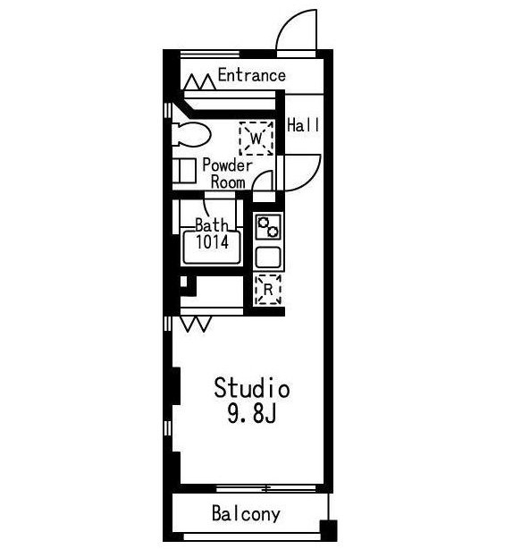 プライムアーバン目黒三田306号室