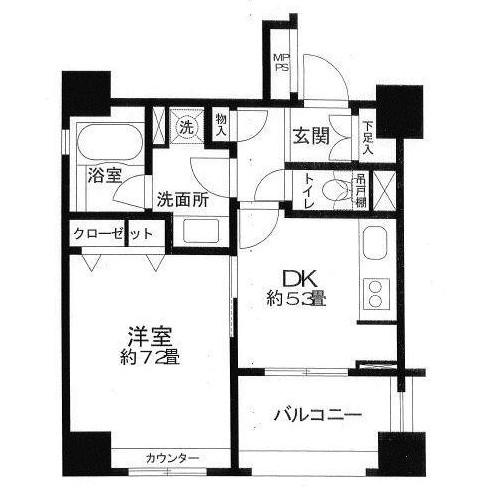 クリオ三田ラ・モード806号室