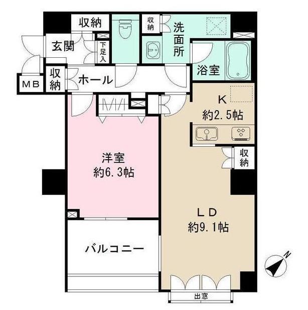 渋谷山手通りSTレジデンス304号室