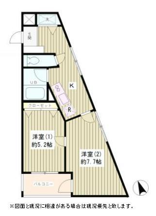 ラルゴ西早稲田303号室