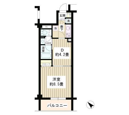 エステージ六義園203号室
