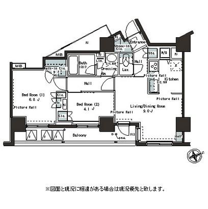 パークアクシス本郷の杜1404号室
