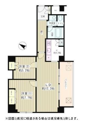 リバー&タワー605号室