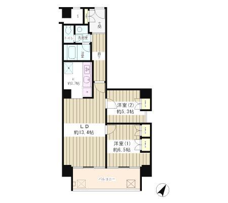 リバー&タワー702号室