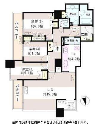 西早稲田パーク・タワー705号室