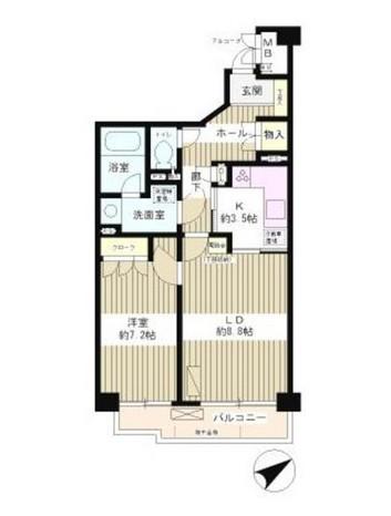 高田馬場パーク・ホームズ311号室