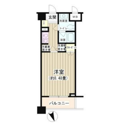 NONA PLACE渋谷富ヶ谷208号室