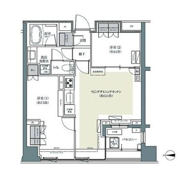 パークハウス東中野リヴゴーシュ223号室