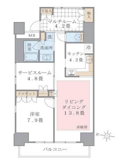 Brillia ist 東雲キャナルコート1303号室