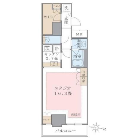 Brillia ist 東雲キャナルコート220号室