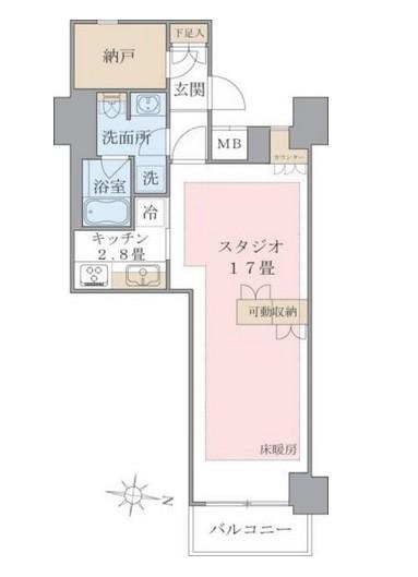 Brillia ist 東雲キャナルコート424号室