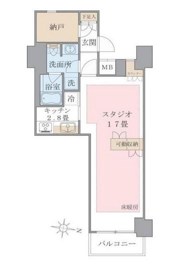 Brillia ist 東雲キャナルコート524号室