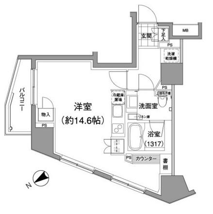 パークハビオ元麻布301号室
