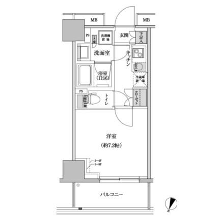 パークハビオ渋谷本町レジデンス708号室