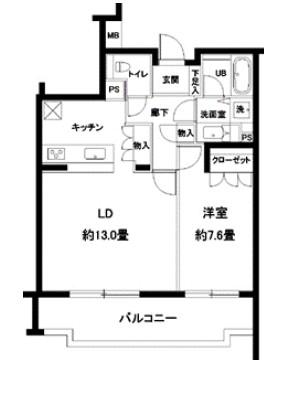 カスタリア参宮橋403号室