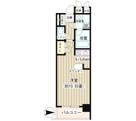 NONA PLACE渋谷神山町404号室