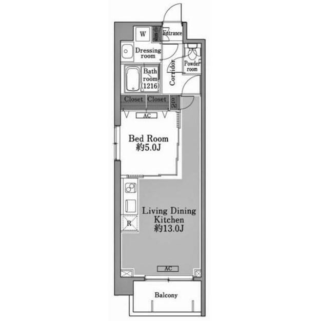 メゾン・ド・コリーヌ市ヶ谷307号室