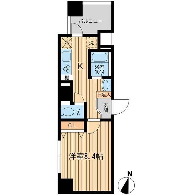 ルフォンプログレ幡ヶ谷1206号室