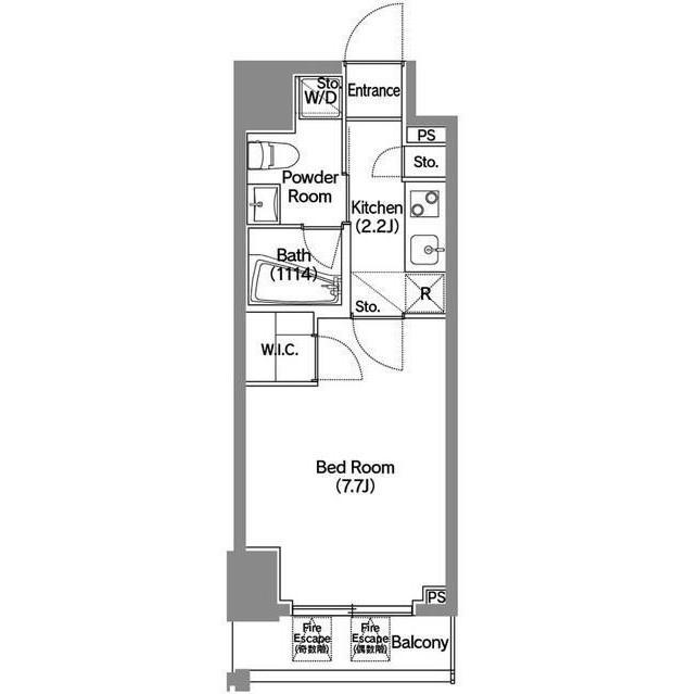 アジールコート新宿702号室