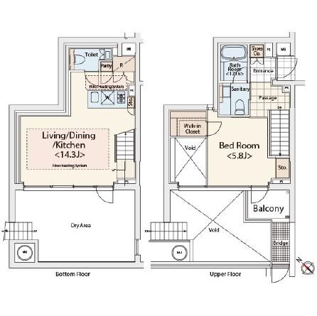 カスタリア初台Ⅱ110号室