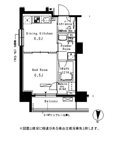 パークアクシス亀戸505号室