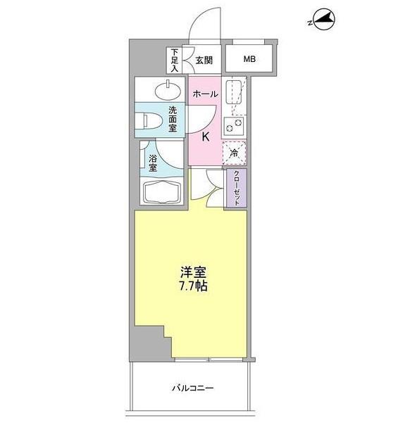 コンフォリア東中野DEUX702号室